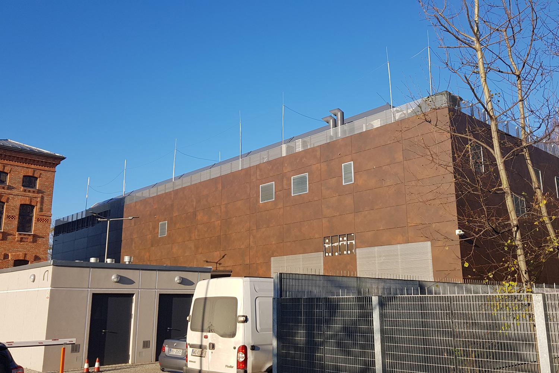 Zabezpieczenie ogniochronne przejść przeciwpożarowych w budynku serwerowni NASK w Warszawie