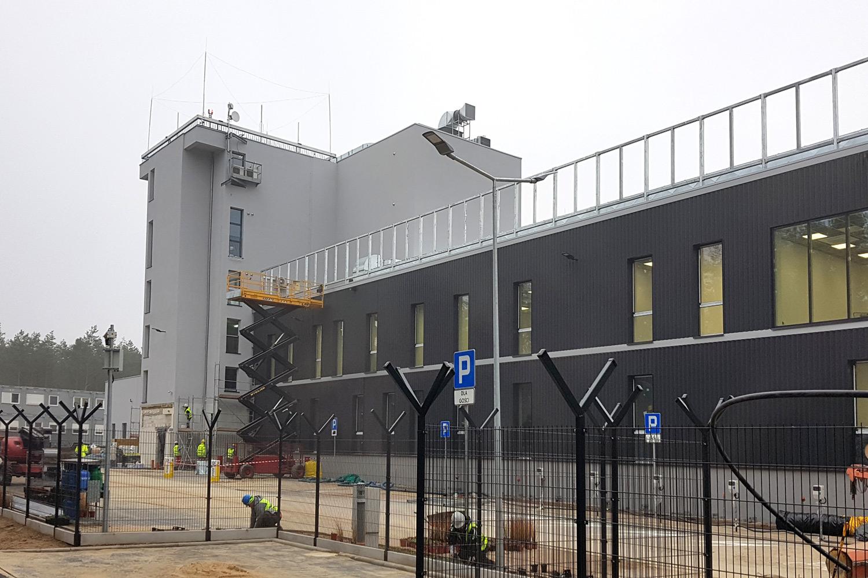 Zabezpieczenie ogniochronne przejść przeciwpożarowych w budynku Ośrodka Kontroli Ruchu Lotniczego