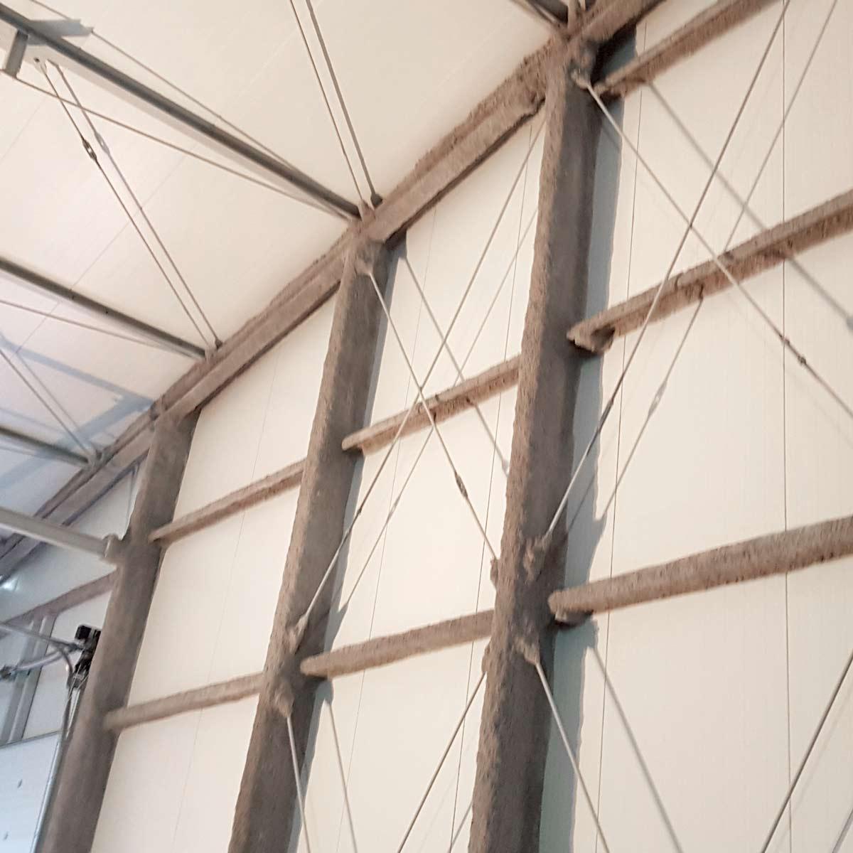 Realizacja - Zabezpieczenieppoż konstrukcji stalowej w Zwoleniu 2019